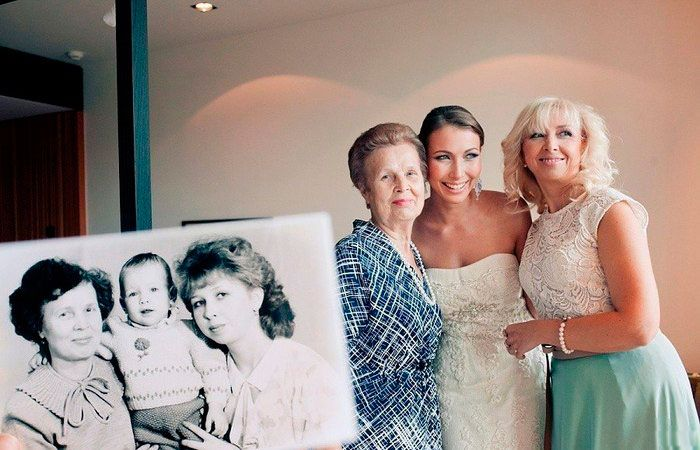 Фото три поколения
