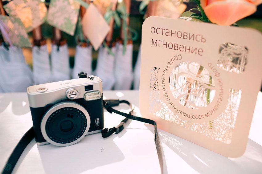 Одноразовые камеры на свадьбе