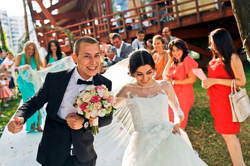 Свадьба большая