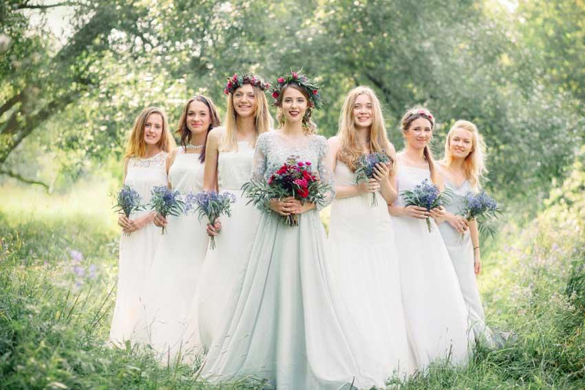 Свадьба на природе без банкета