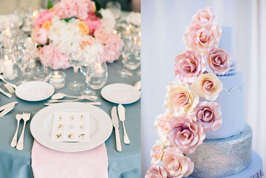 Оттенки на свадьбе