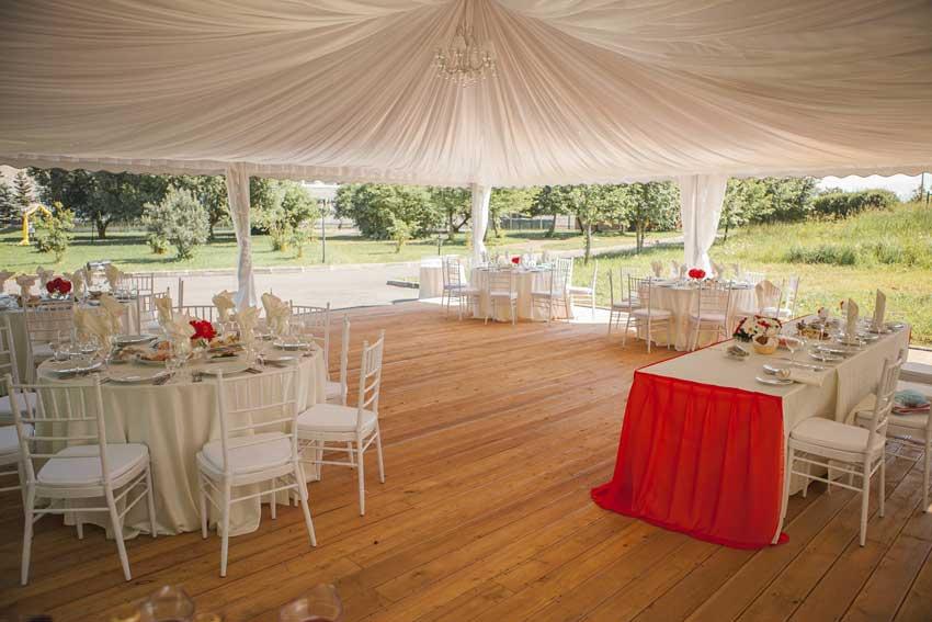 Свадьба open air