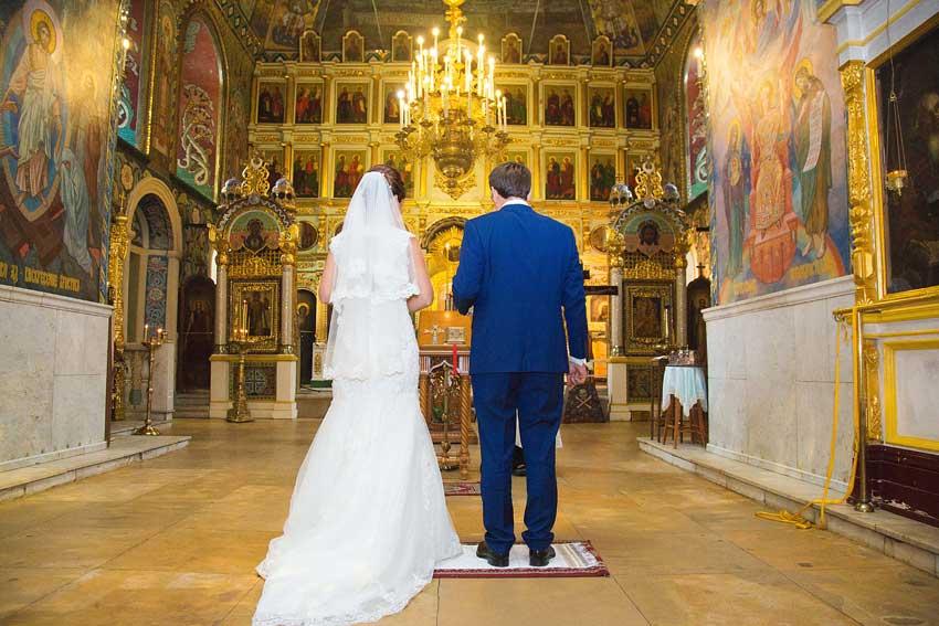 Венчание в мае