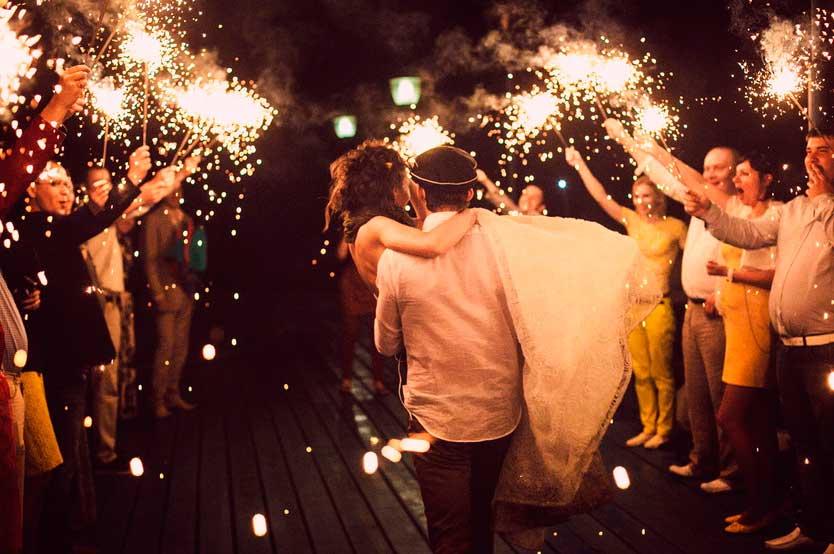 Как закончить свадьбу