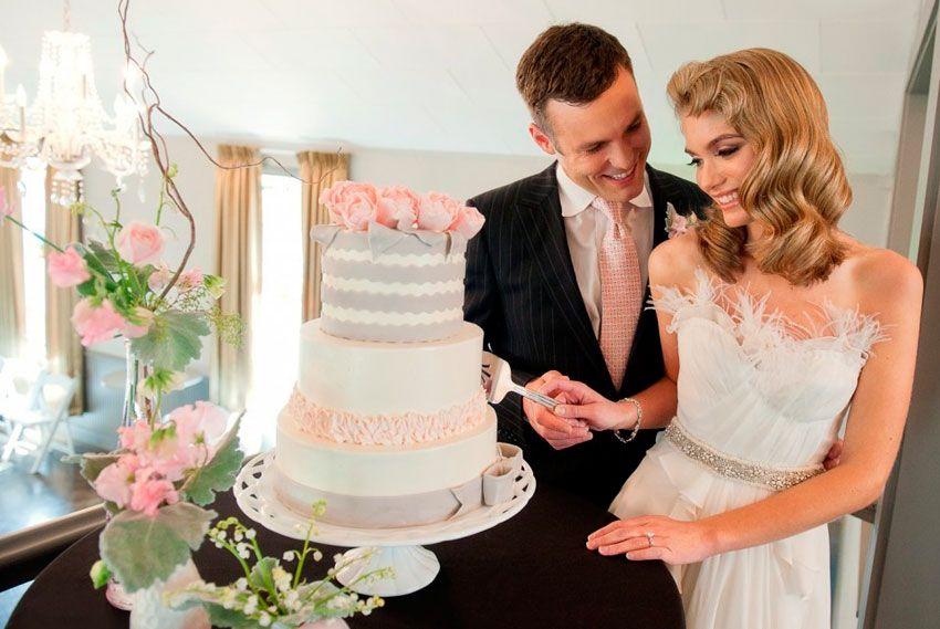 Свадебный торт экономия