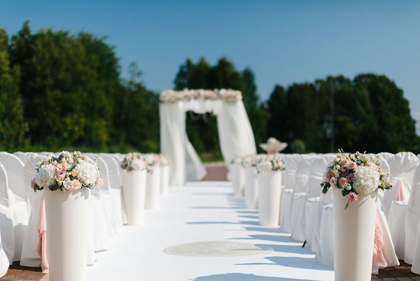 Место для церемонии