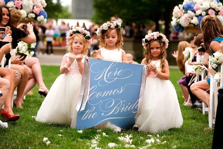 Дети на церемонии