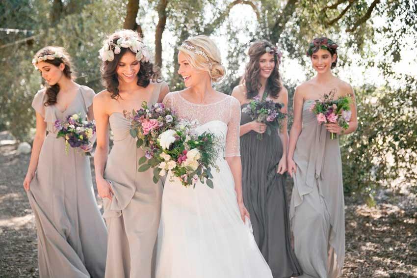 Разные подружки невесты