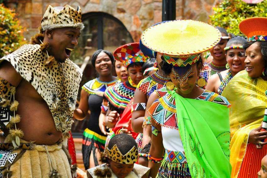 Свадьба Африка