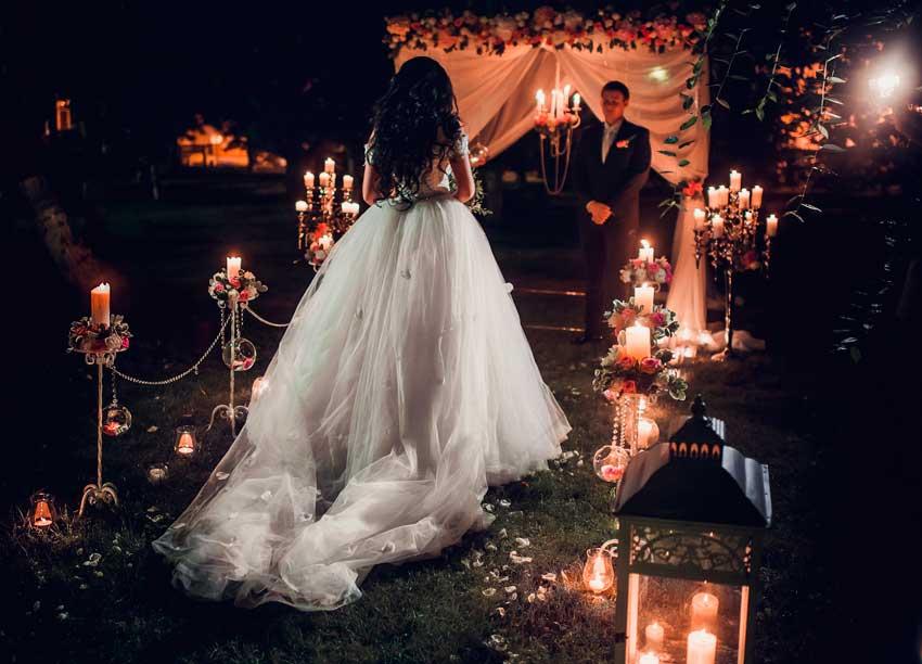 Ночная свадьба