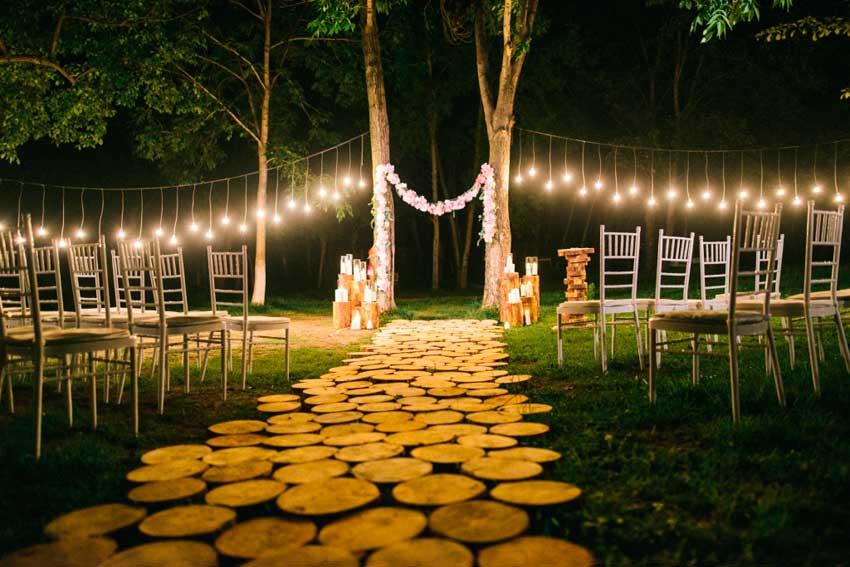 Ночная выездная церемония