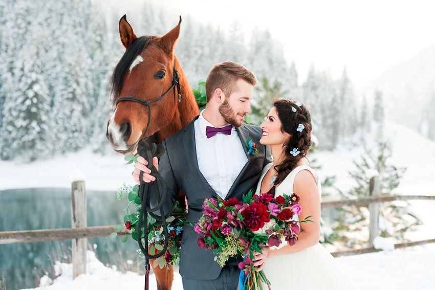 Советы для зимней свадьбы