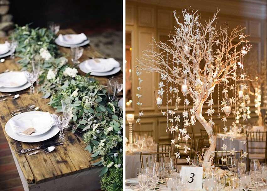 Бело-зеленая свадьба