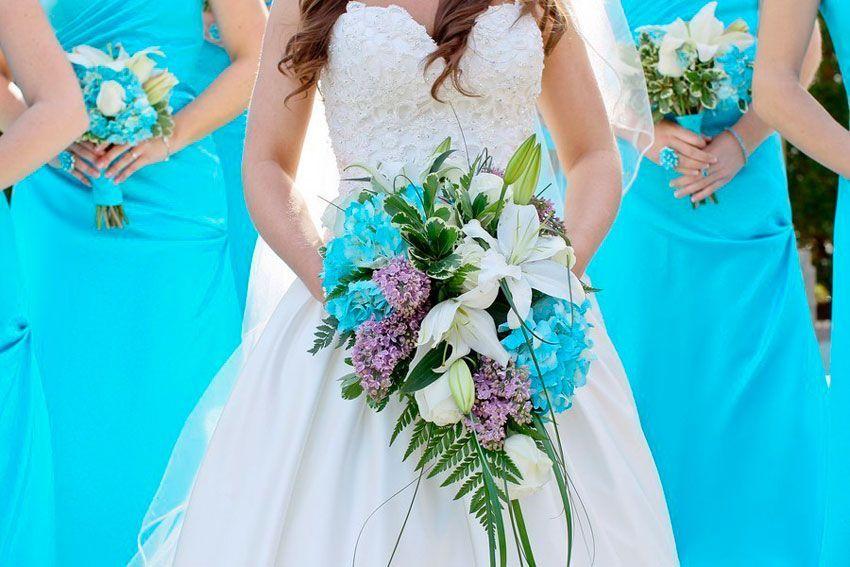 Свадьба бирюзовый