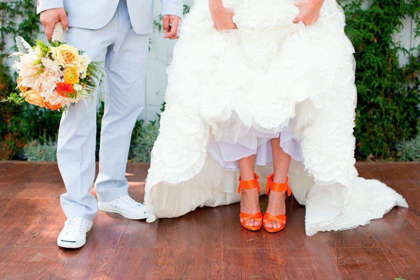 Свадьба терракотовая