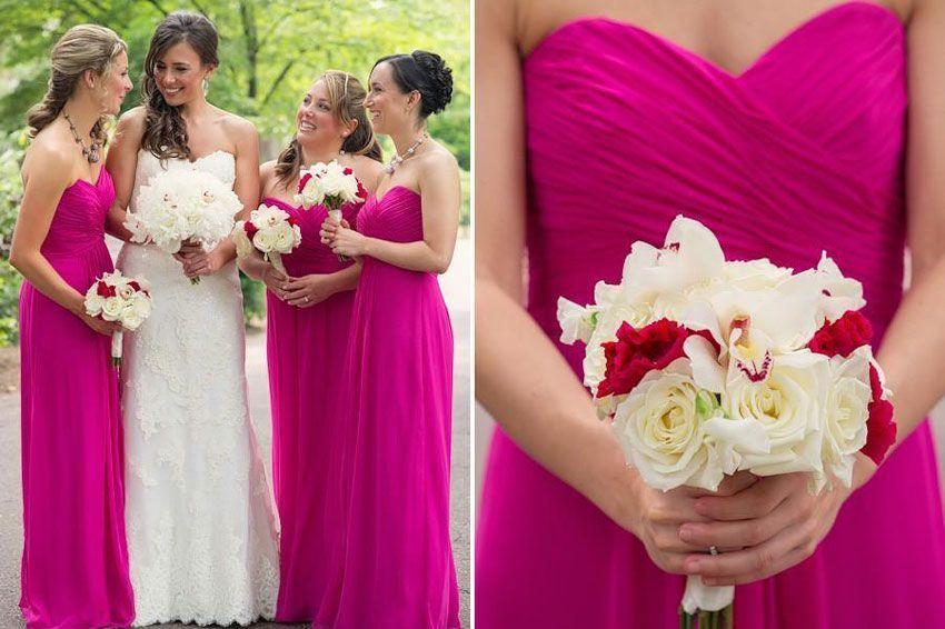 Свадьба малиновая