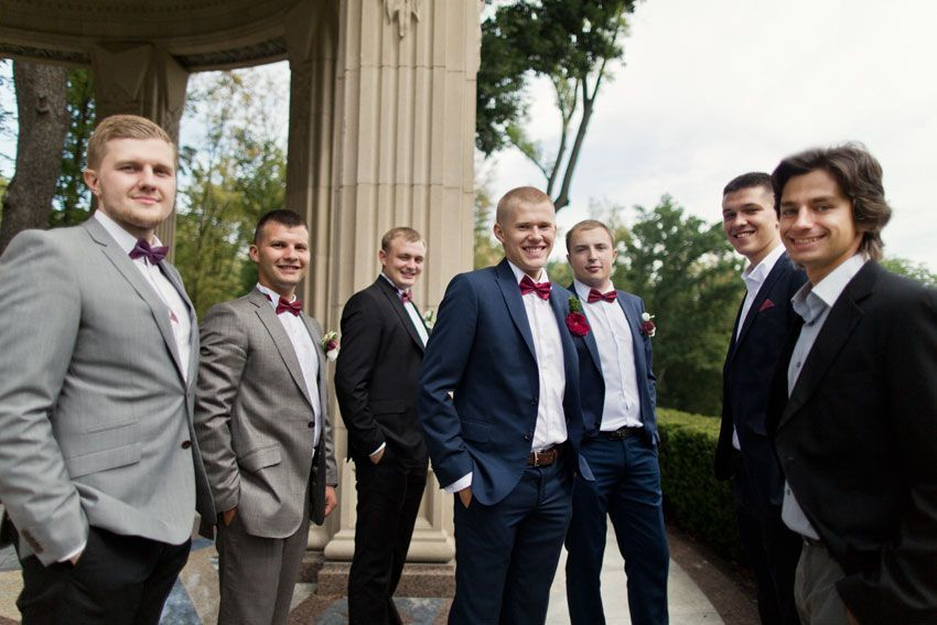 Свадьба глазами мужчин