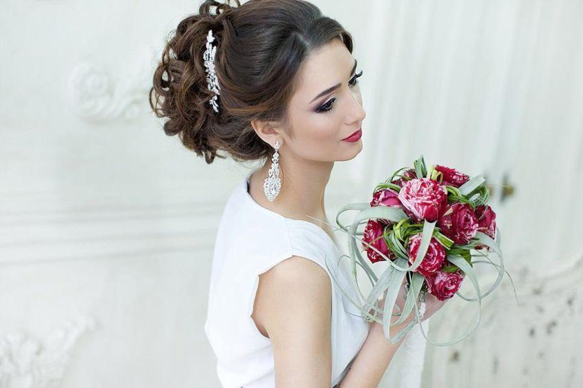 Свадебное платье белое