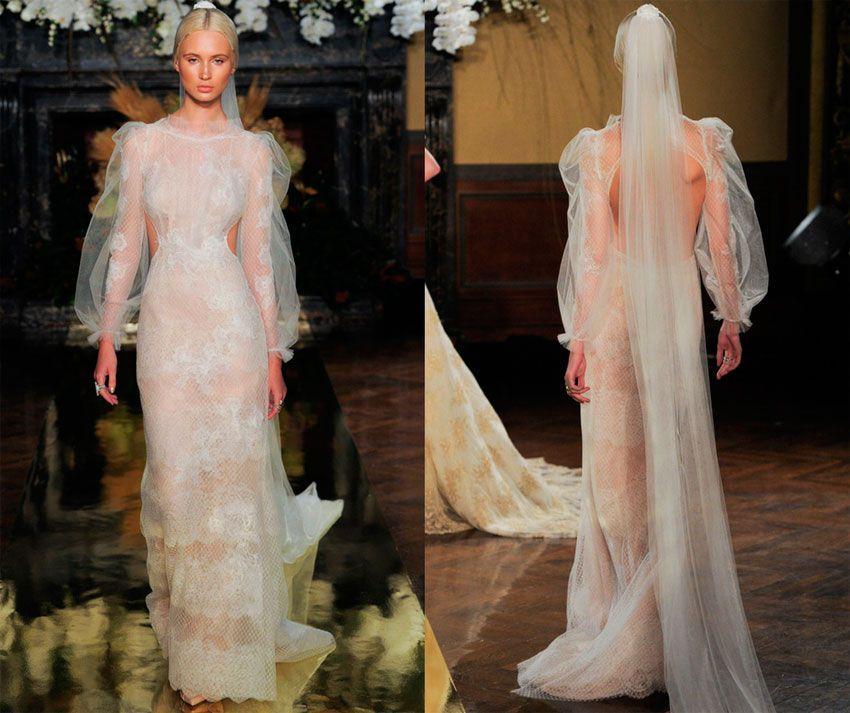 Свадебный наряд для раков