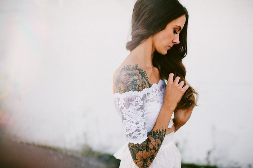 Невесты с татуировками: скрывать или подчеркивать?